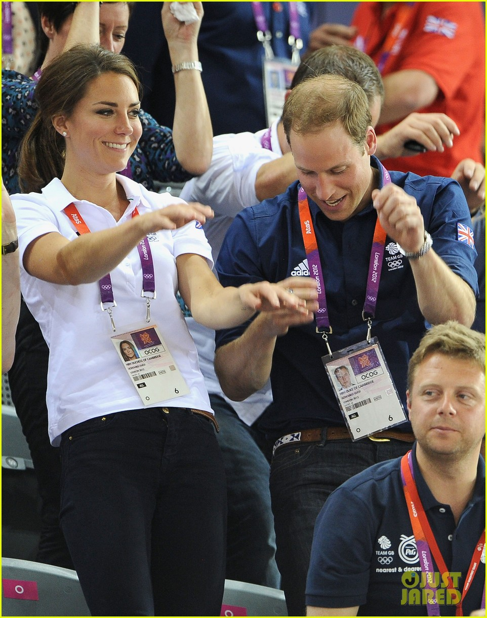 duchess kate prince william celebrate great britains cycling win at the olympics 23