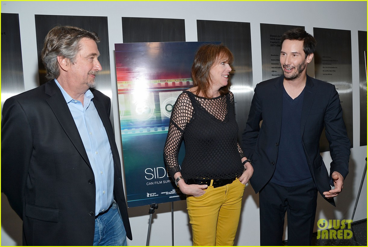 keanu reeves side by side premiere 132699436