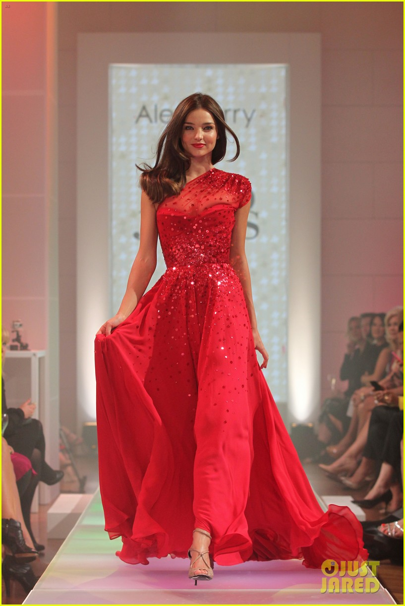 miranda kerr david jones season launch show 06