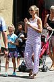 heidi klum park day with kids 01