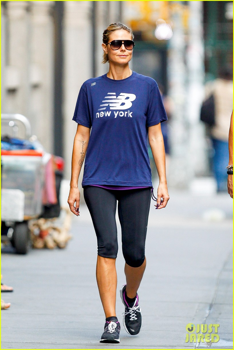 Heidi Klum: Back to Running! | heidi klum busy saturday 05 - Photo ...