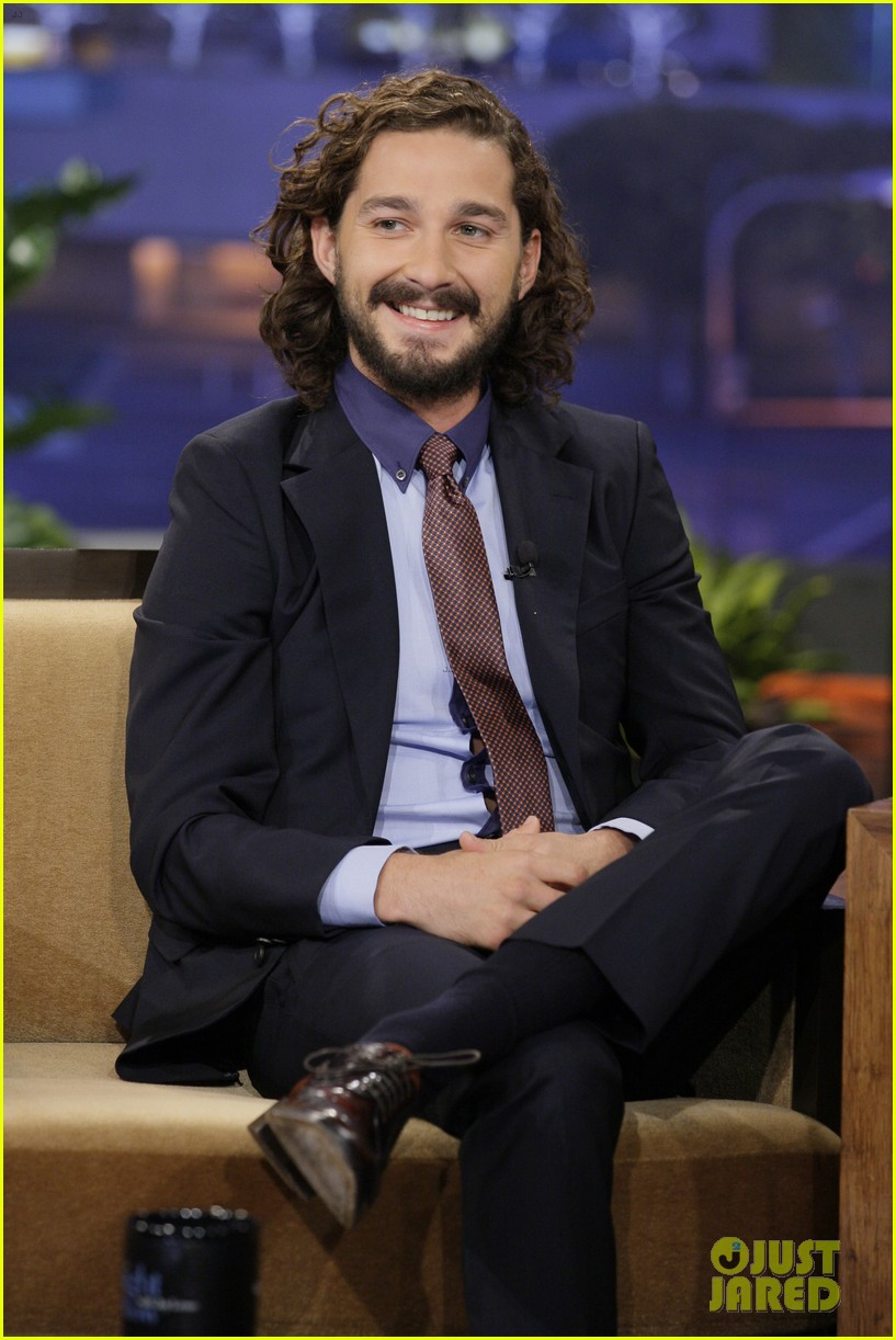 shia labeouf tonight show with jay leno appearance 022706635