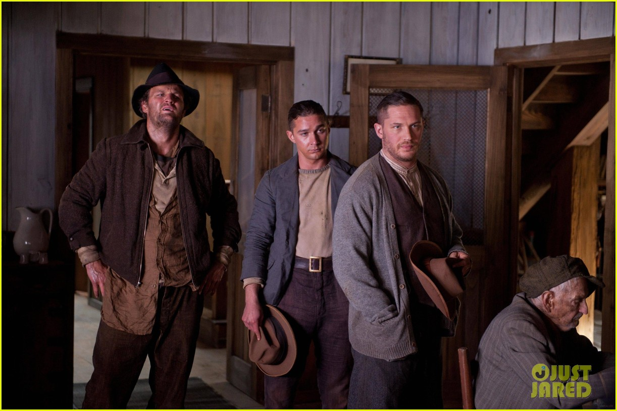 tom hardy jessica chastain shia labeouf lawless stills 18