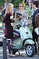 blake lively penn badgley vespa riders for gossip girl 10