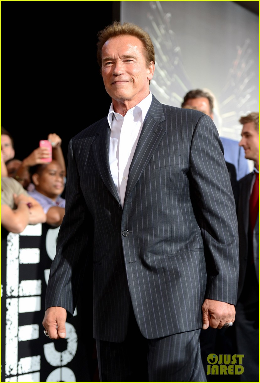 ryan lochte expendables 2 premiere with sylvester stallone 042702867