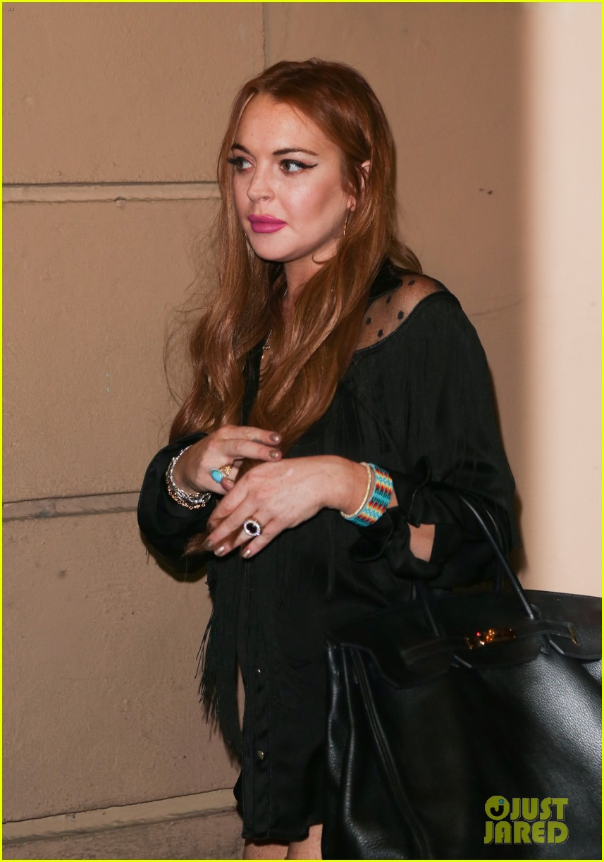 lindsay lohan william album wrap party 03