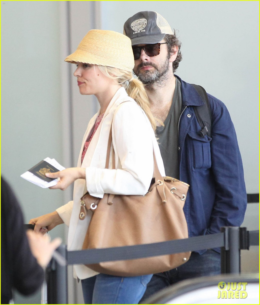 rachel mcadams michael sheen lax airport 062699737