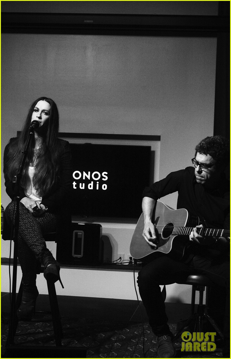 alanis morissette album listening party 12