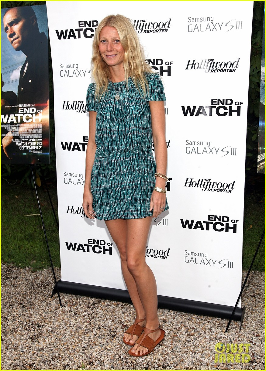 paltrow end of watch screening 01