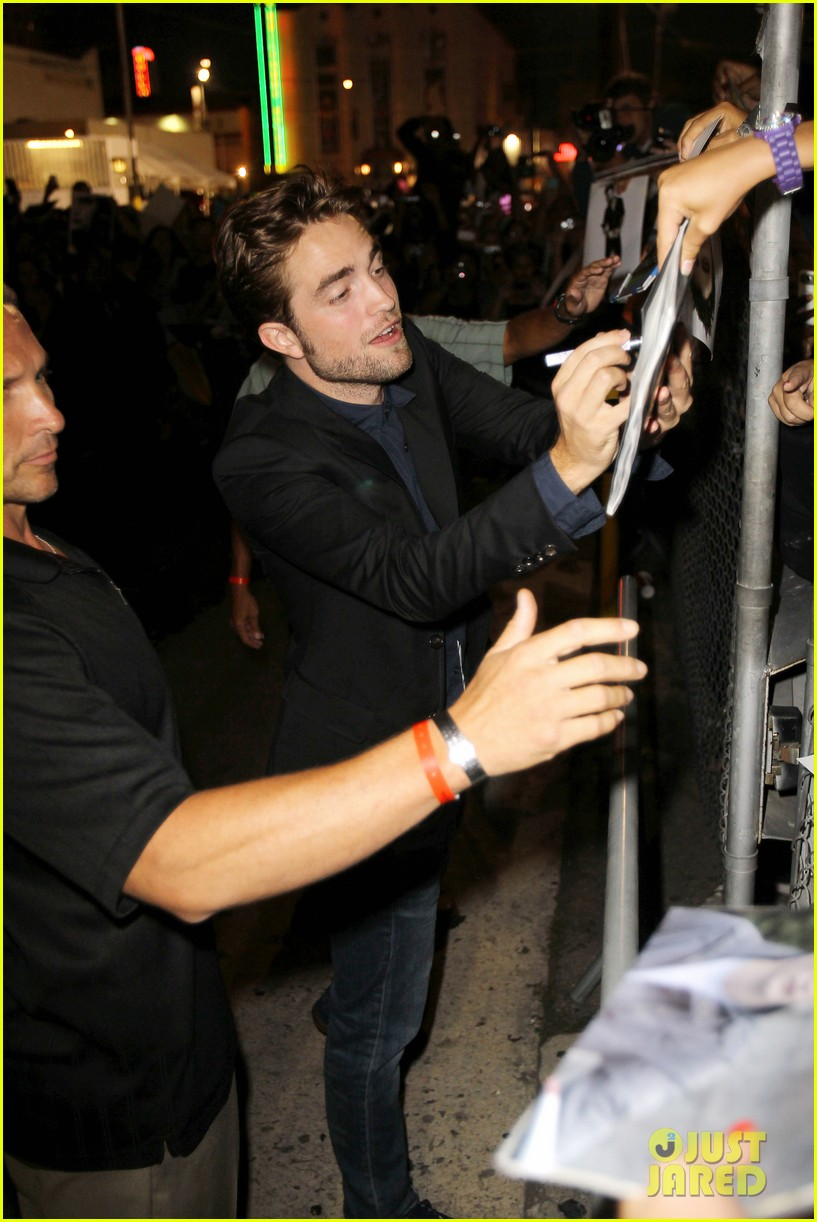 robert pattinson jimmy kimmel live appearance 072707122