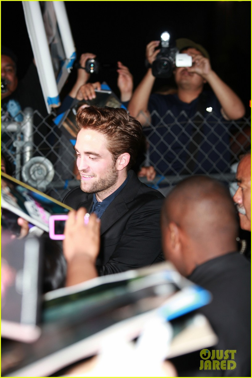 robert pattinson jimmy kimmel live appearance 082707123