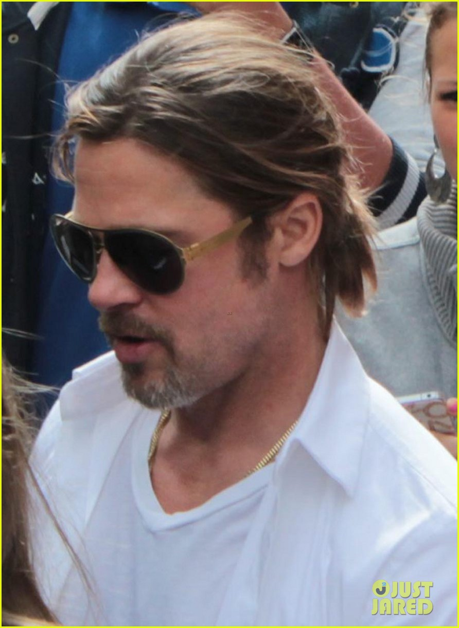 brad pitt angelina jolie le touquet with the kids 082709863