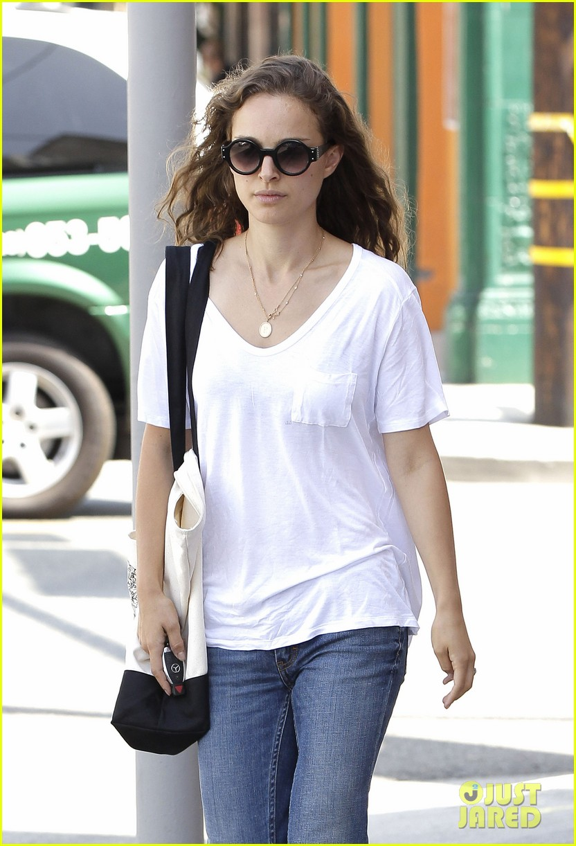 natalie portman early lunch 13