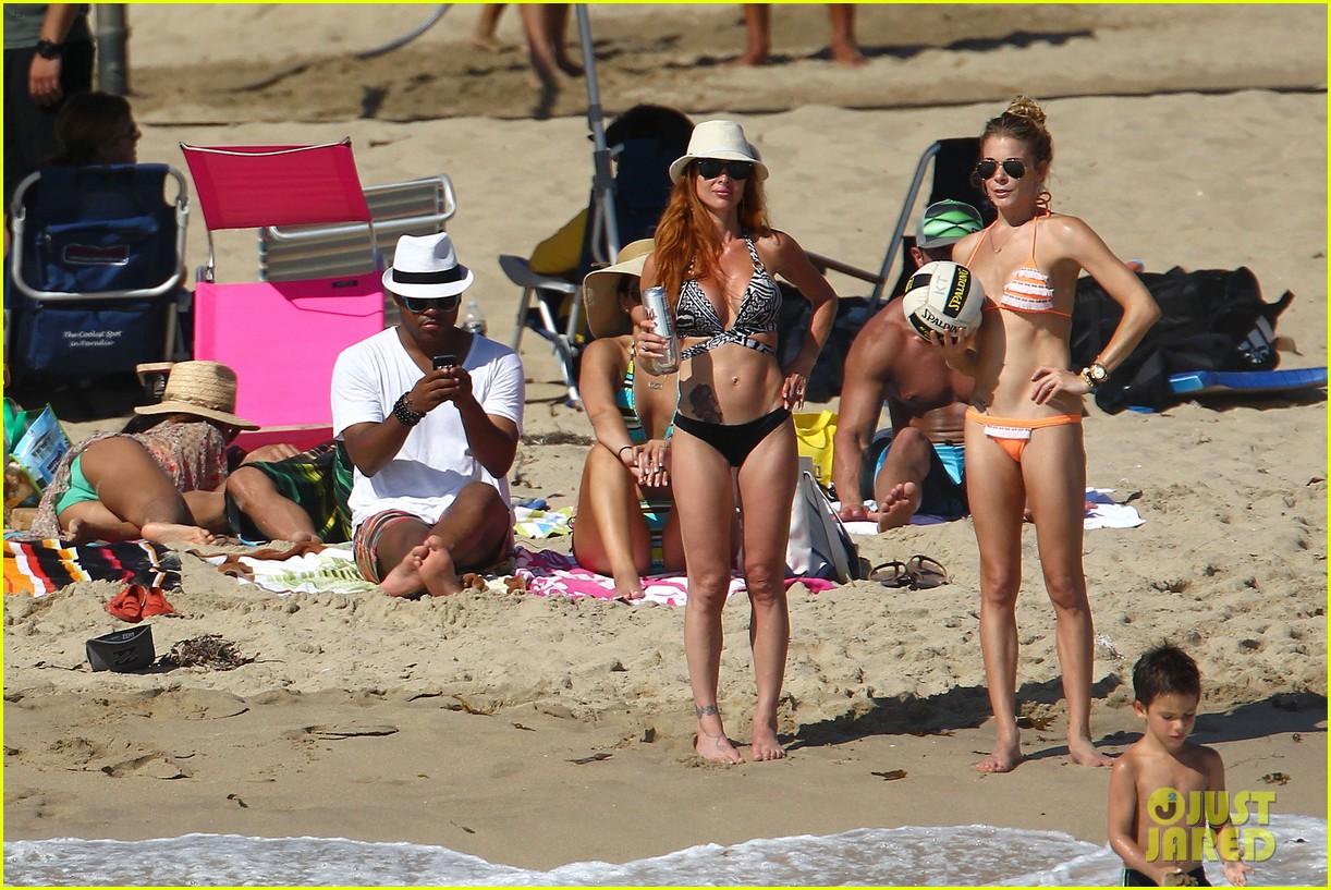 leann rimes bikini beach babe with eddie cibrian 182701494