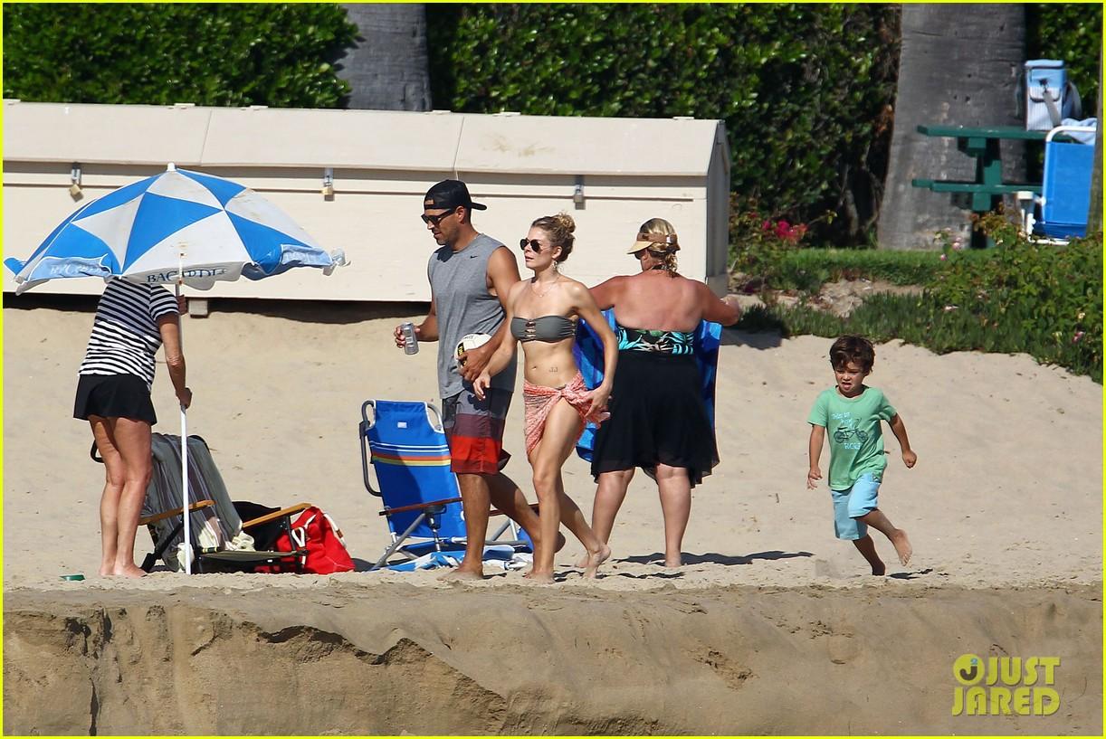 leann rimes bikini beach babe with eddie cibrian 412701517
