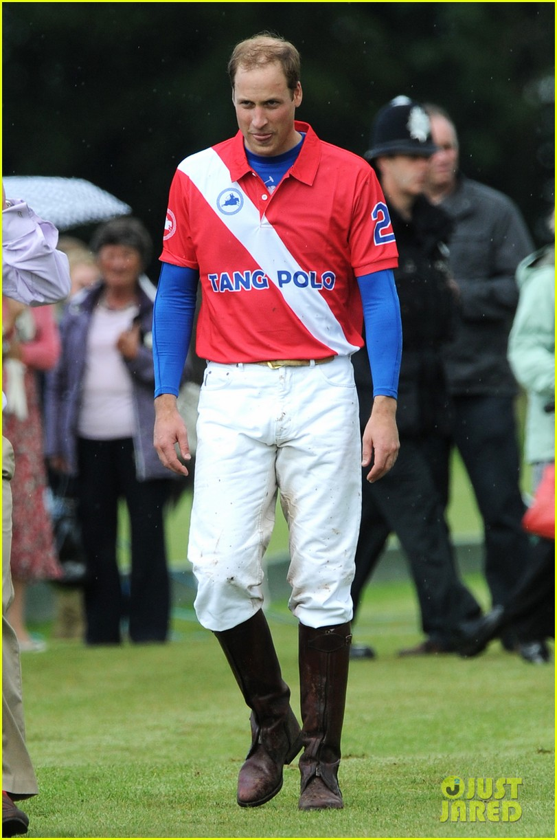 prince harry william charity polo match 17
