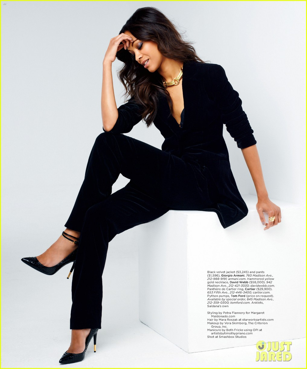 zoe saldana covers gotham magazine september 2012 03