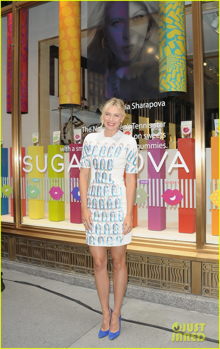maria sharapova sugarpova launch hamptons mag cover 17