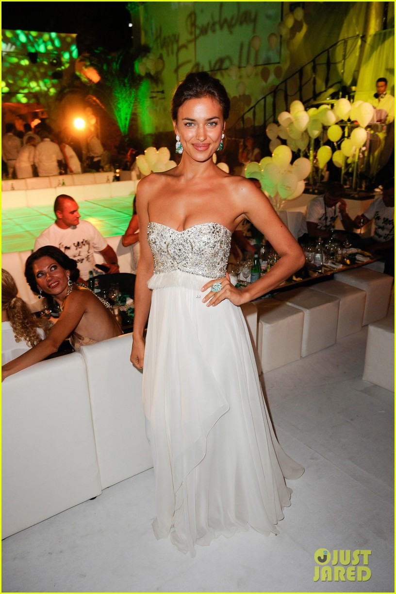 irina shayk fawaz gruosis 60th birthday bash 02