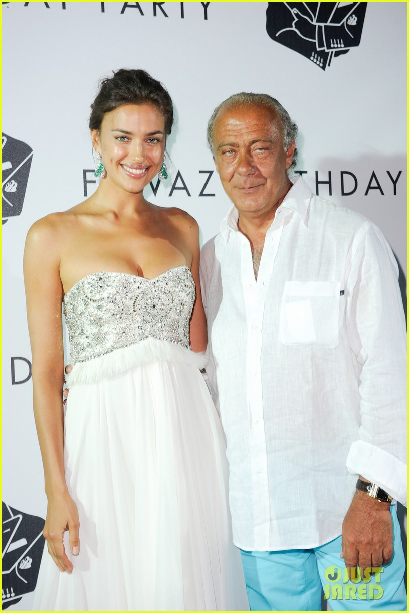 irina shayk fawaz gruosis 60th birthday bash 09