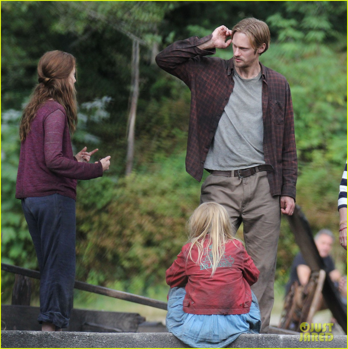 alexander skarsgard hidden set with body double 29
