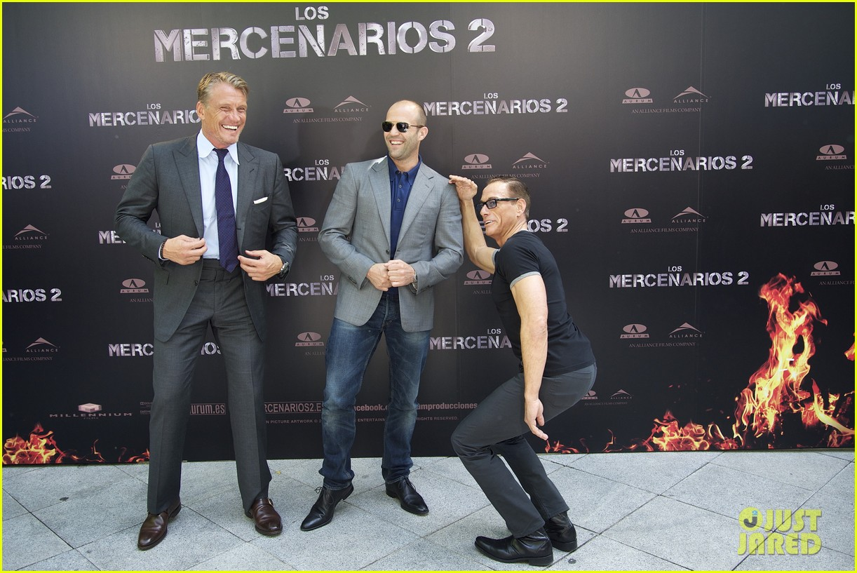 jason statham expendables 2 photo call spain 192698624