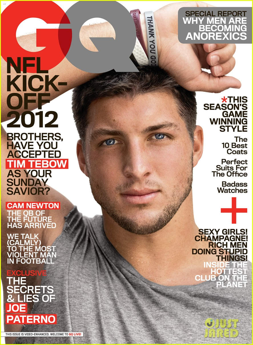 tim tebow shirtless for gq september 2012 012701977