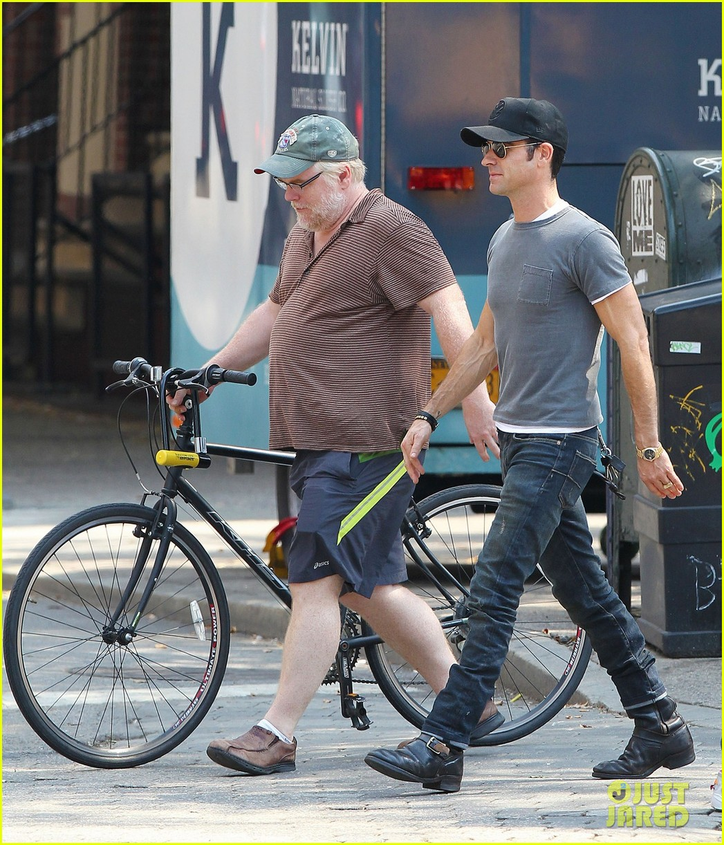 justin theroux lunch with philip seymour hoffman 02
