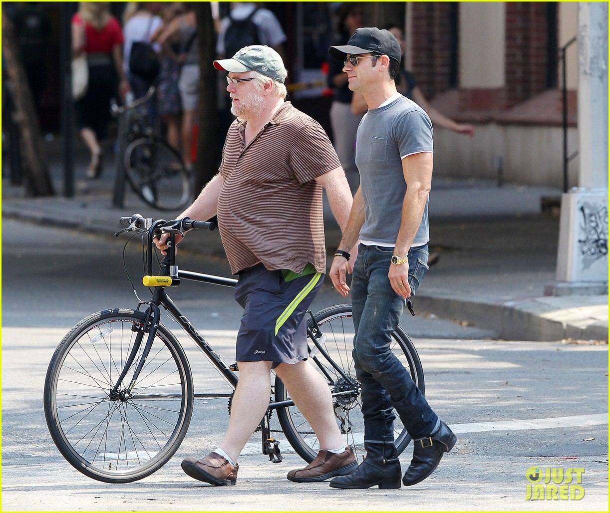 justin theroux lunch with philip seymour hoffman 05