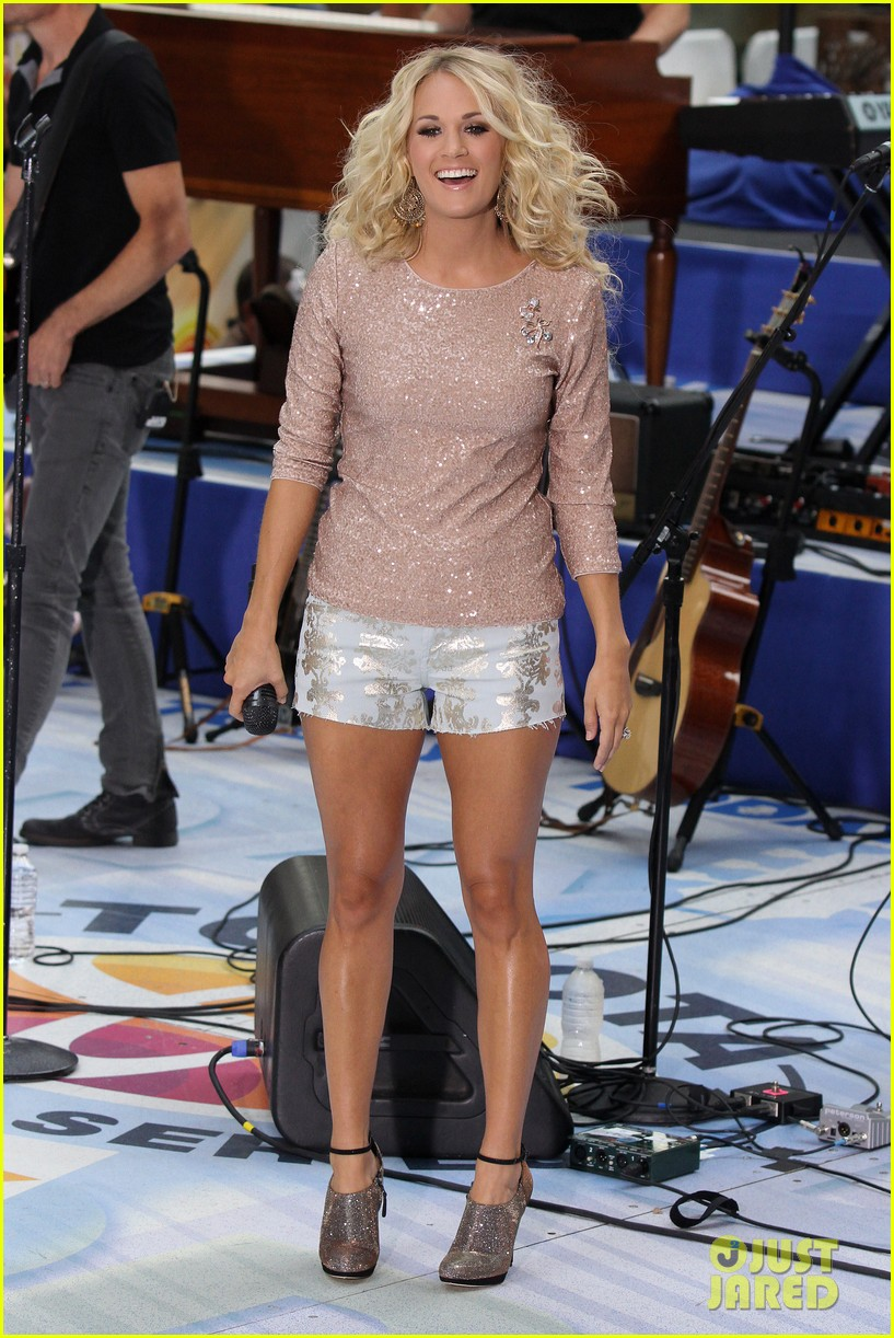 carrie underwood today show performance 06