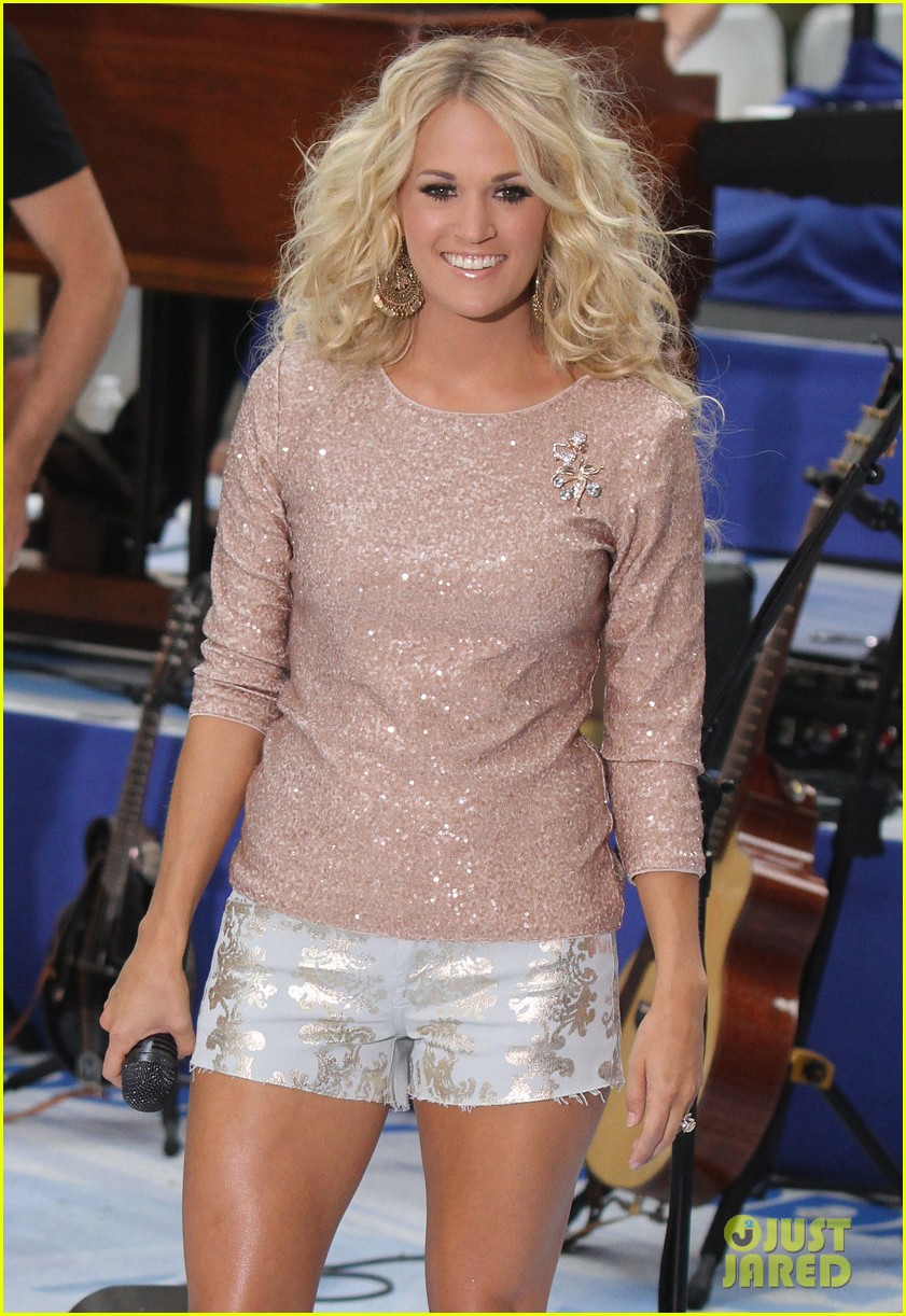 carrie underwood today show performance 07