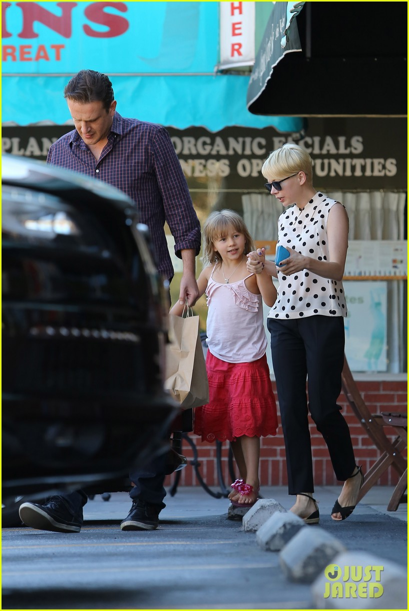 michelle williams jason segel ice cream with matilda 17