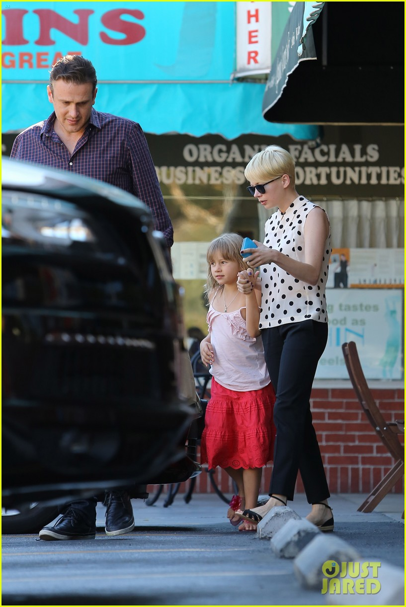 michelle williams jason segel ice cream with matilda 202709612