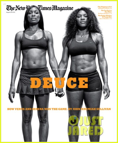 venus serena williams cover new york times magazine 012707874