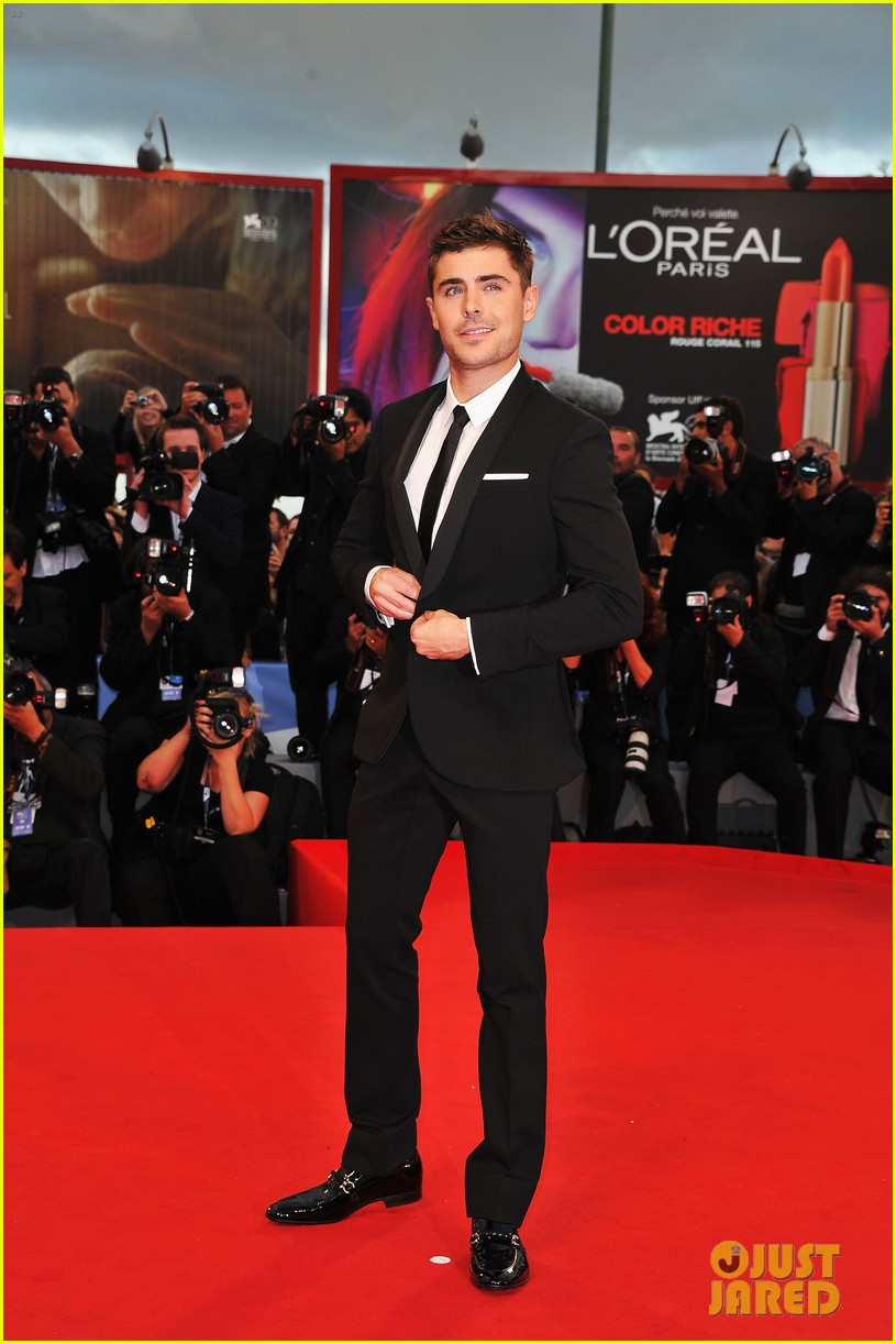 zac efron at any price venice premiere 01