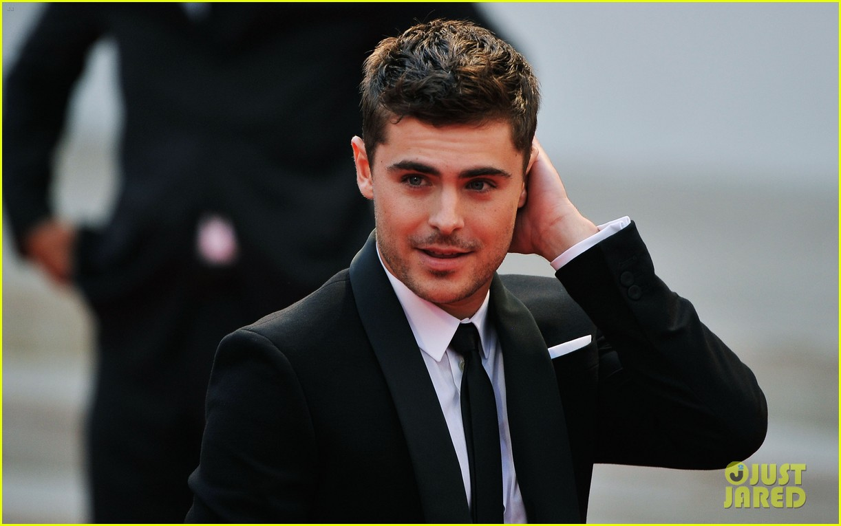 zac efron at any price venice premiere 14
