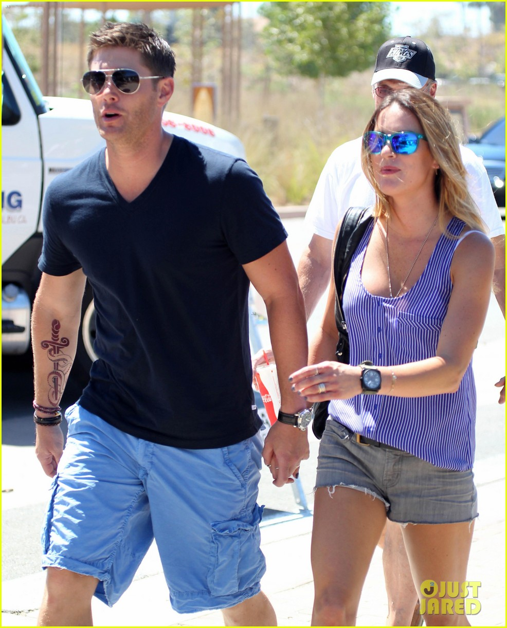 jensen ackles malibu chili cook off with danneel 062713246