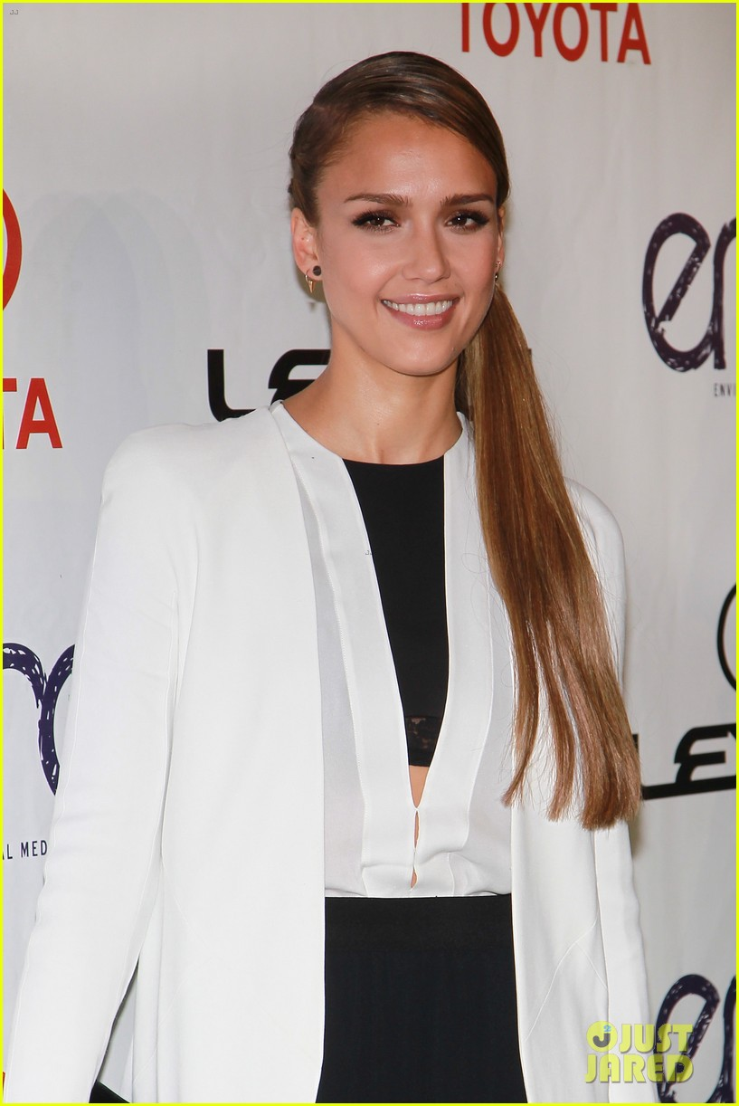 jessica alba cash warren environmental media awards 22