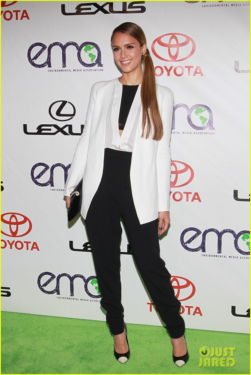 jessica alba cash warren environmental media awards 27