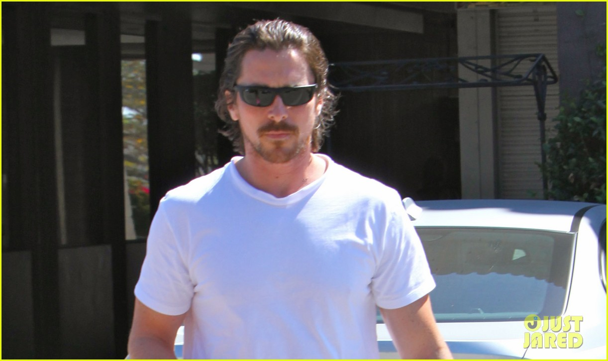 christian bale family lunch 02