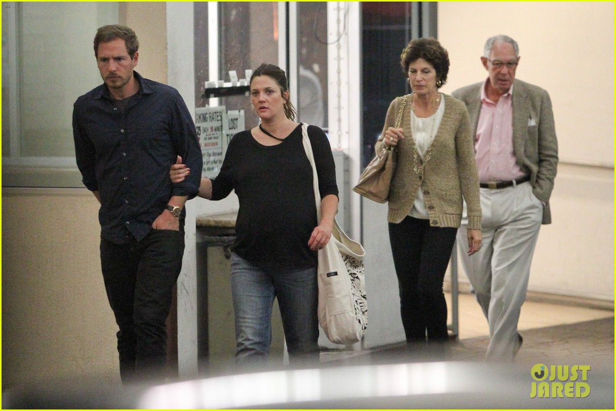 drew barrymore will kopelman dinner with parents 11