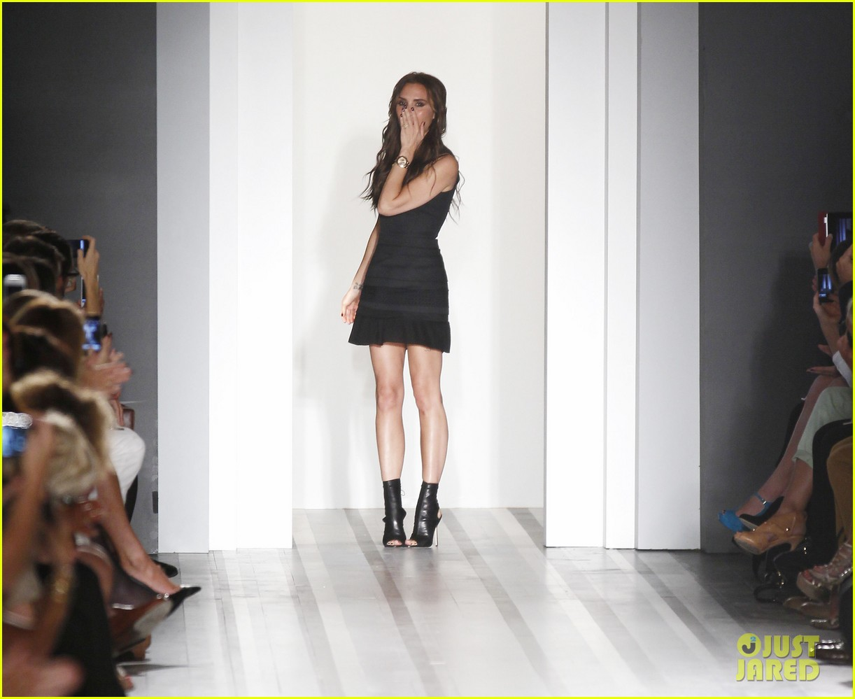 victoria beckham shows line fashion week 08