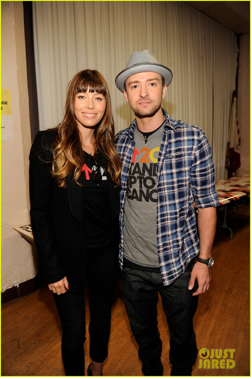 justin timberlake jessica biel stand up to cancer couple 03