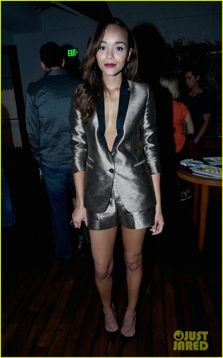 alexis bledel lucy hale nylon tv issue launch party 23