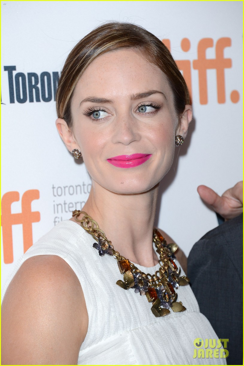 Emily Blunt: \'Arthur Newman\' TIFF Premiere with Colin Firth!: Photo ...
