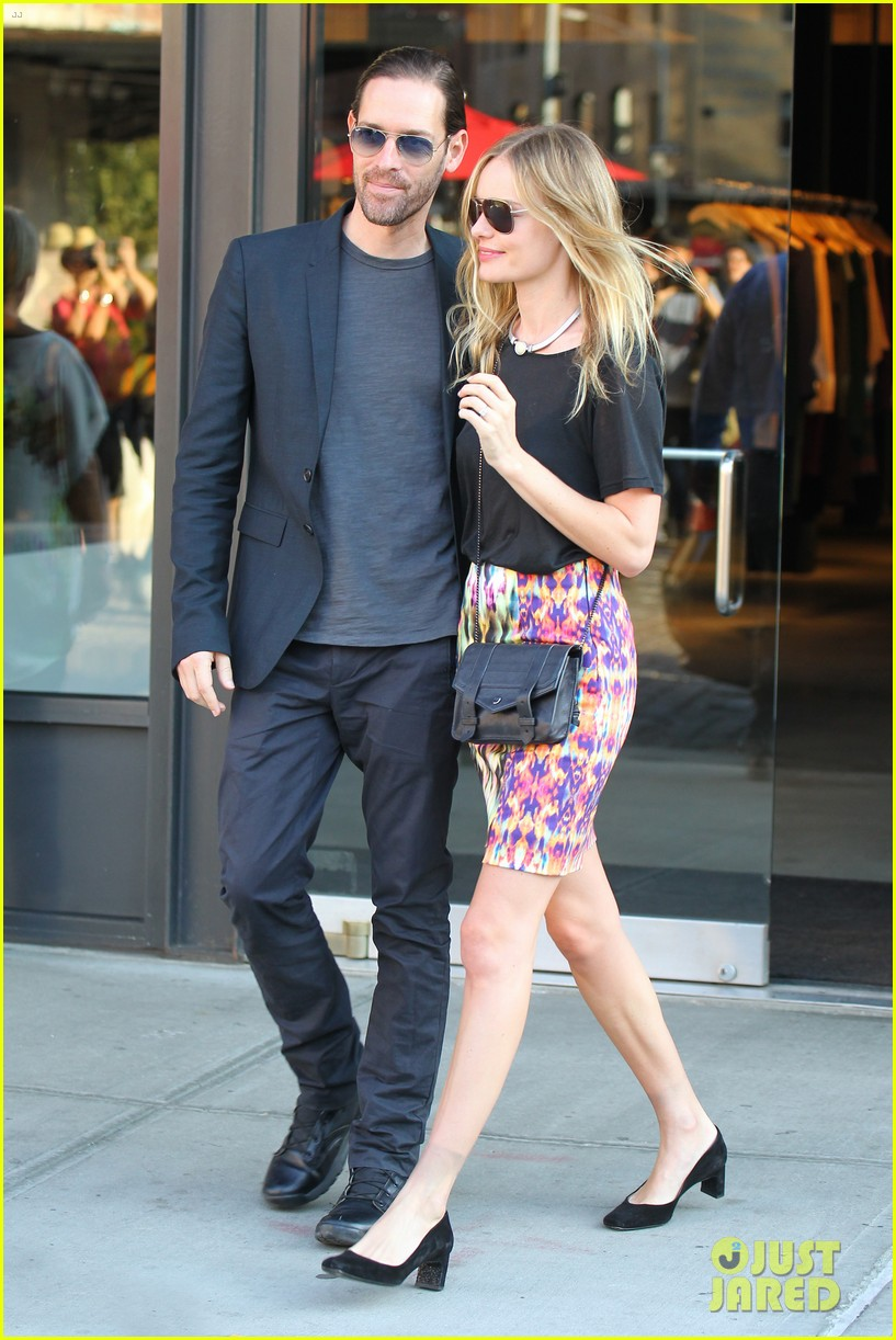 kate bosworth michael polish meatpacking district date 03
