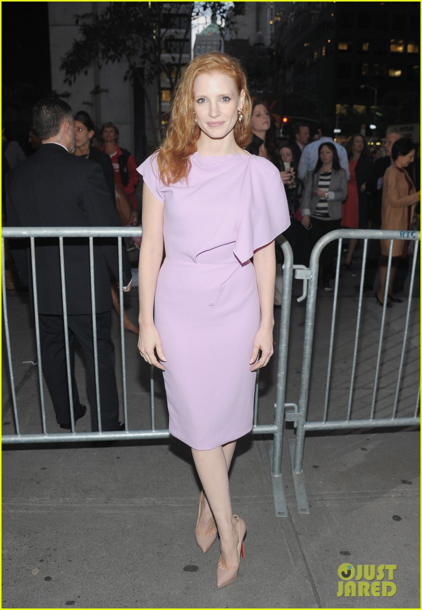 jessica chastain if there is i havent yet opening night 03
