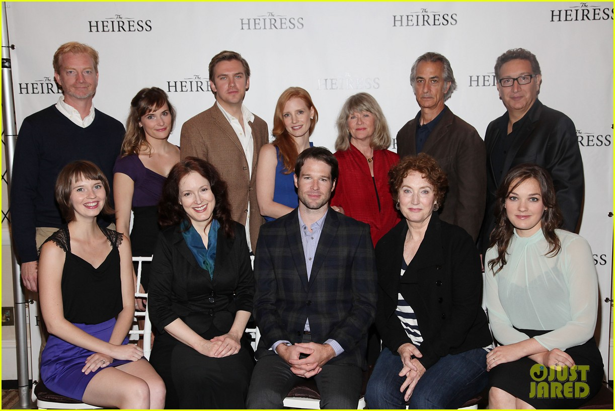 jessica chastain the heiress photo call 10