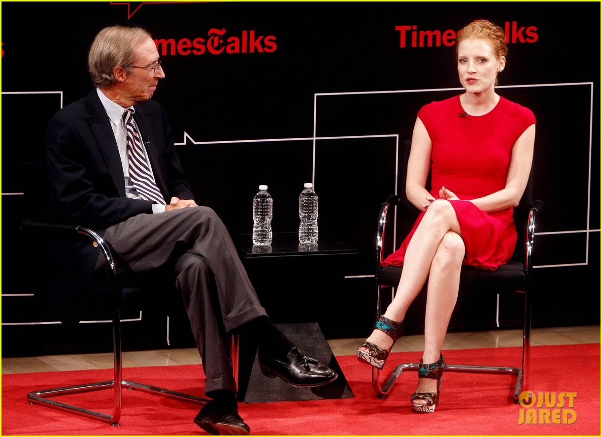 jessica chastain times talk 11