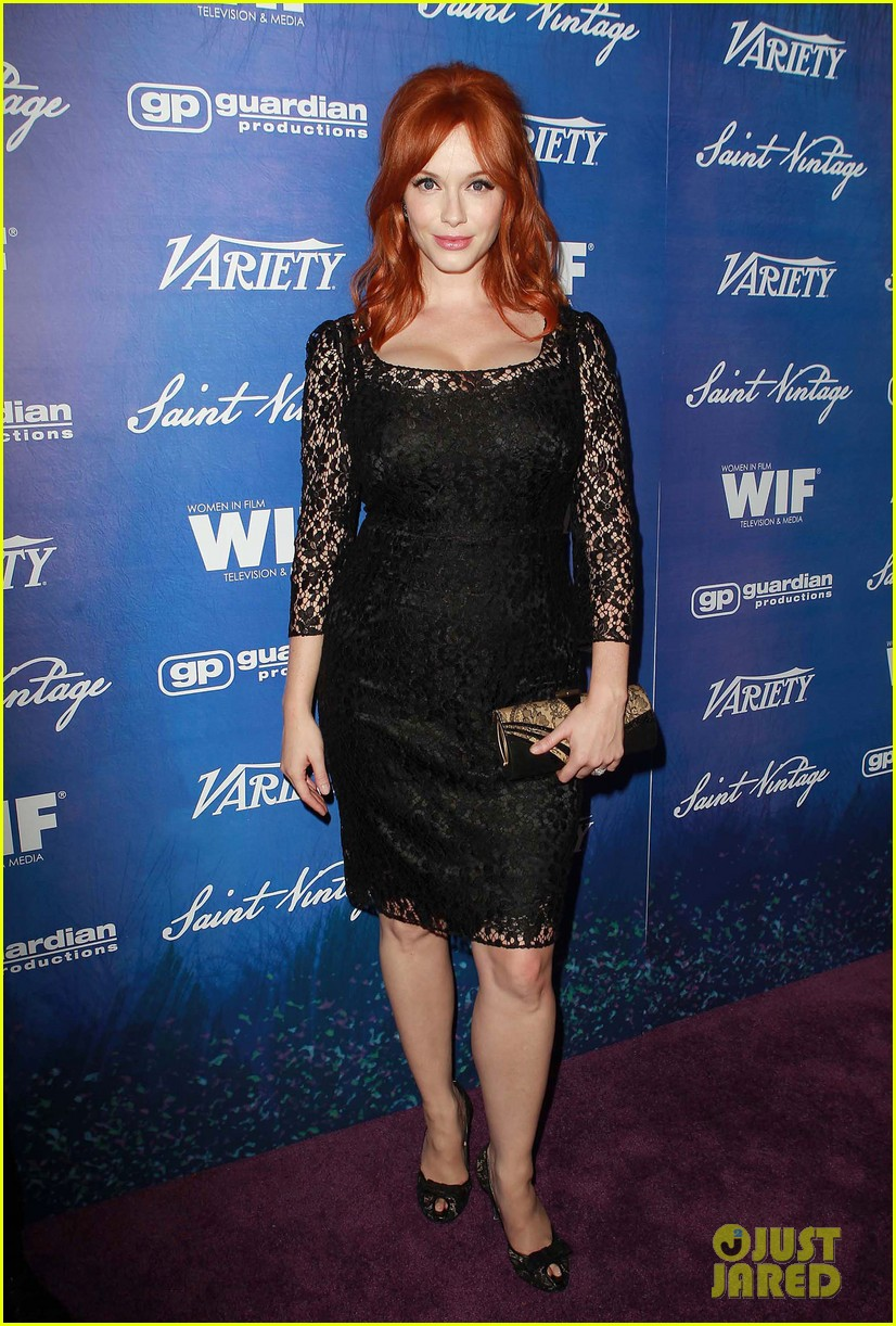 christina hendricks amy poehler variety women film pre emmy event 01